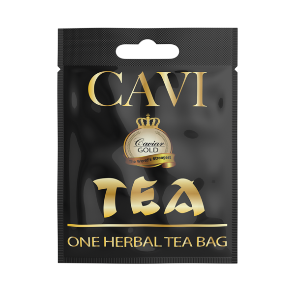 Cavi Tea Bags 50mg CBD Each